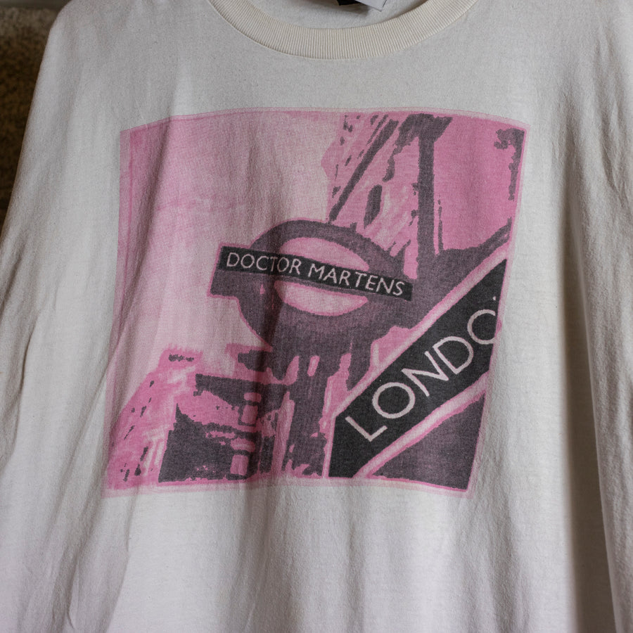 Vintage Doc Martens Single Stitch T-Shirt sz L