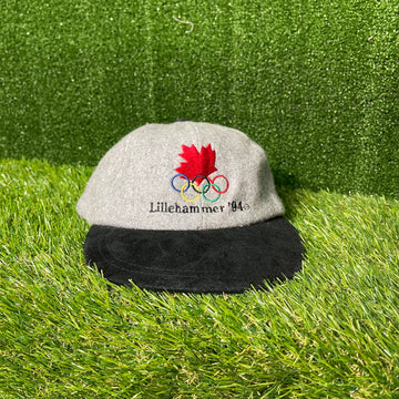 Team Canada 1994 Olympic Strap Back Hat