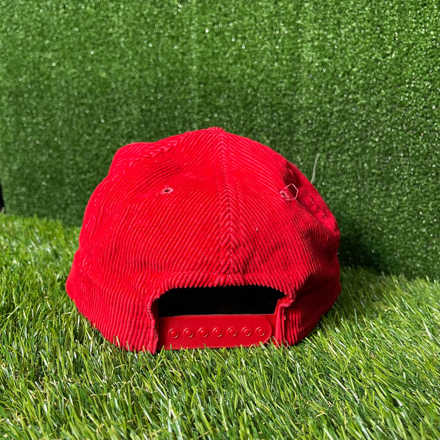Sky Dome Red Cord Snap Back Trucker Hat