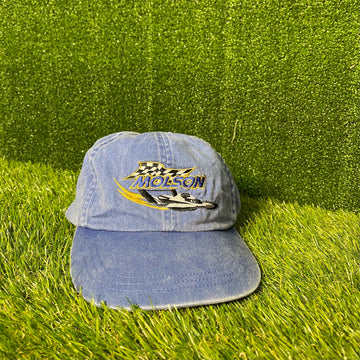 Molson Canadian Denim Strap Back Hat