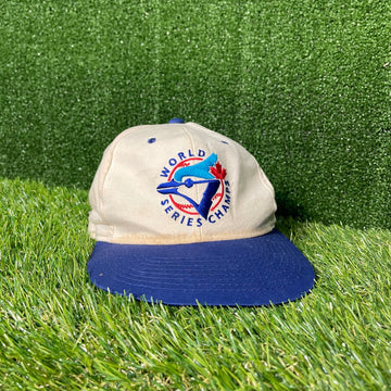 Toronto Bluejays 1992 World Championships Starter Strap Back Hat