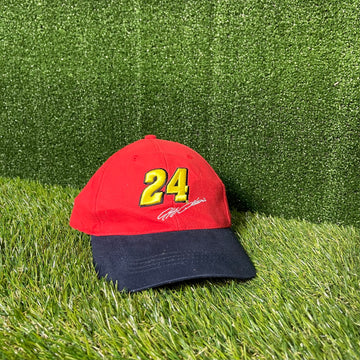 NASCAR Jeff Gordon Velcro Strap Back Hat