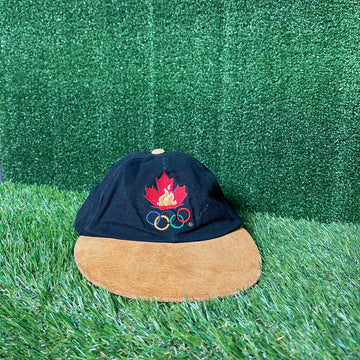 Team Canada 1996 Atlanta Olympics Strap Back Hat