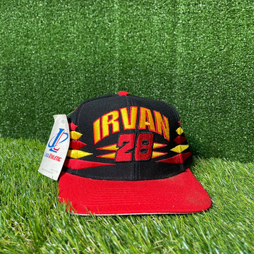 NASCAR Logo Athletic Irvan Snap Back Hat