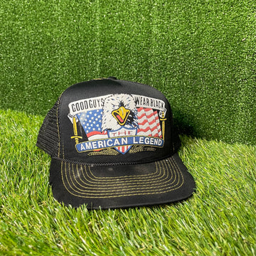 American Legend Harley Snap Back Trucker Hat