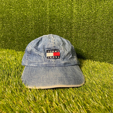 Tommy Jeans Denim Strap Back Hat