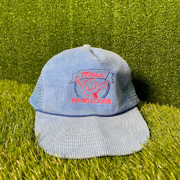 Maui Corduroy Snap Back Hat Trucker Hat