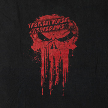 "Vintage ""This Is Not Revenge It's Punishment"" T-Shirt sz L"