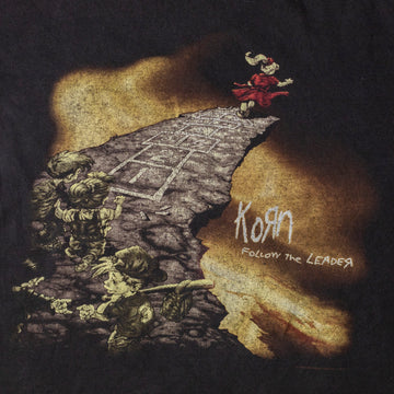 "Vintage Korn ""Follow the Leader"" T-Shirt sz L"