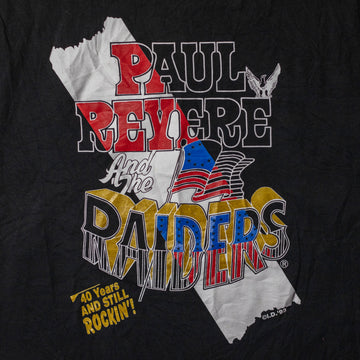 Vintage 90's Paul Revere and the Raiders T-Shirt sz L