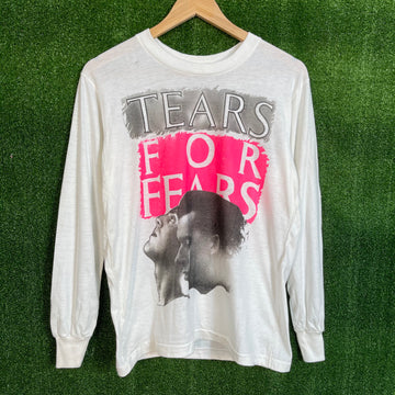 Deadstock Tears For Fear Long Sleeve Shirt