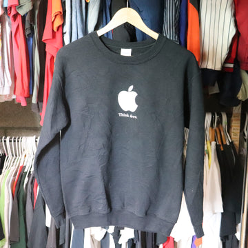 Vintage Apple Think Drew Sweatshirt SZ S