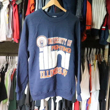Vintage University Of Illinois Fighting Sweatshirt