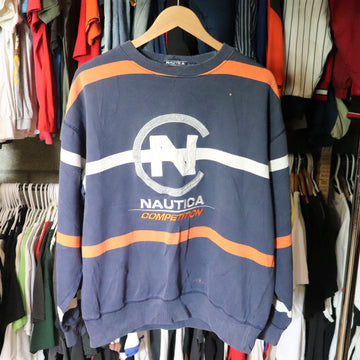 Vintage Nautica Competition Sweatshirt SZ XL