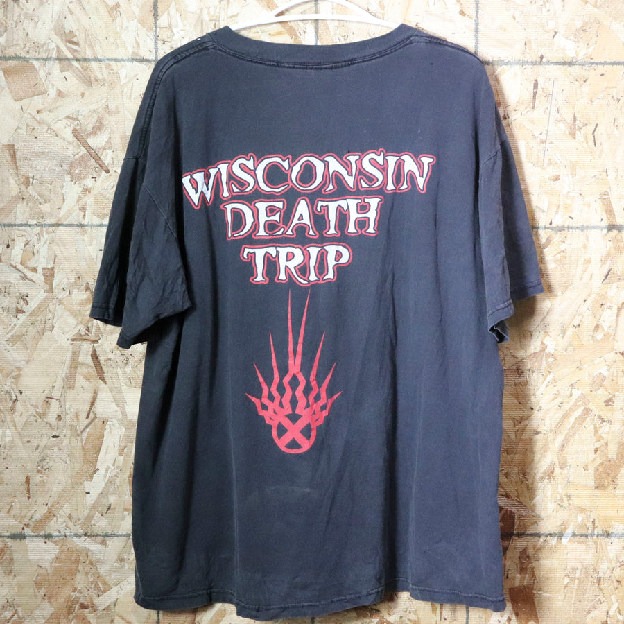 Vintage Static-X Wisconsin Death Trip T-Shirt Size XL