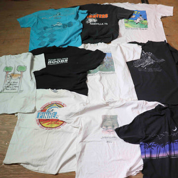 Vintage Wholesale T-Shirt Bundle - Mix #5 (10 pieces)