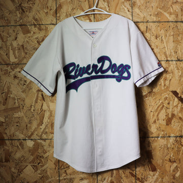 Vintage River Dogs Scott Welch MLB Baseball Teamwork Jersey Size L