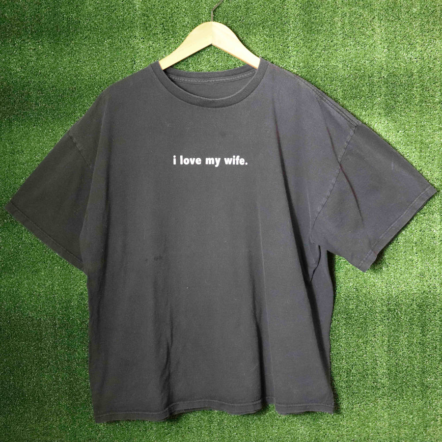 Vintage I Love My Wife T-Shirt SZ N/A