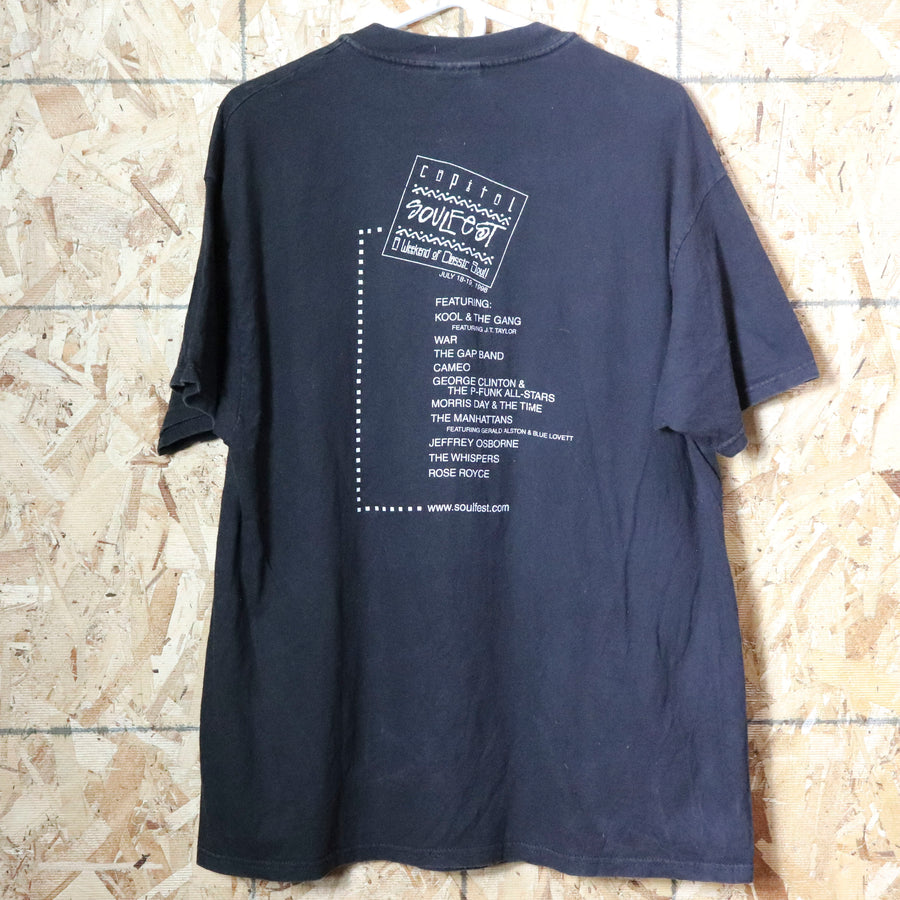 Vintage Capital Soul Fest T-Shirt Size XL