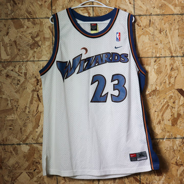 Vintage Nike Washington Wizards Michael Jordan NBA Basketball Jersey Size XL