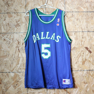 Vintage Dallas Mavericks Jason Kidd NBA Basketball Jersey Size 48