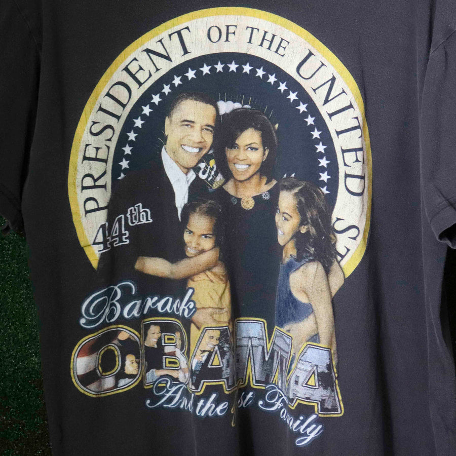 Vintage Barack Obama And The 1st Family T-Shirt SZ N/A