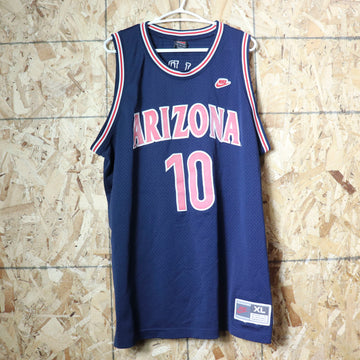 Vintage Nike Arizona Wildcats Mike Bibby NBA Basketball Jersey Size XL