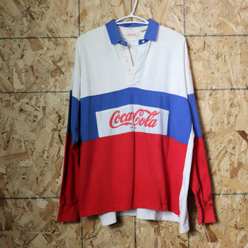 Vintage Coca-Cola Golf Polo Shirt Size L