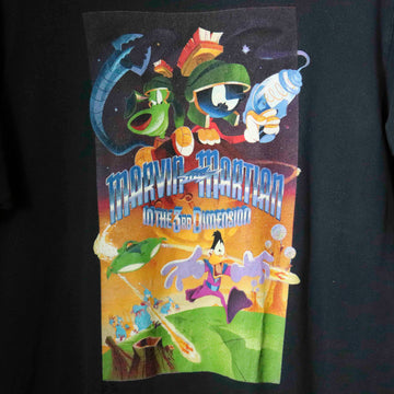 Vintage Marvin The Martian In The 3rd Dimension T-Shirt SZ L