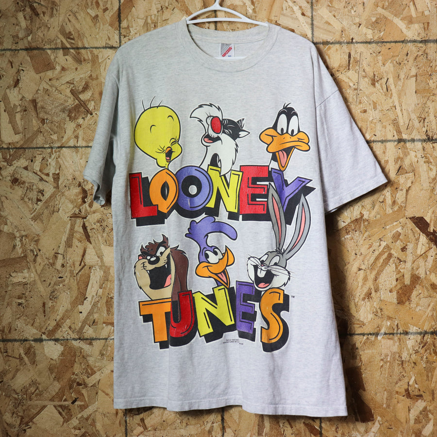 Vintage 93 Warner Bros Looney Tunes Cartoon T-Shirt Size XL