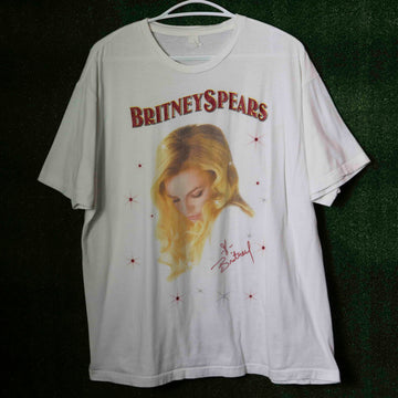 Vintage Britney Spears The Circus Tour T-Shirt SZ N/A