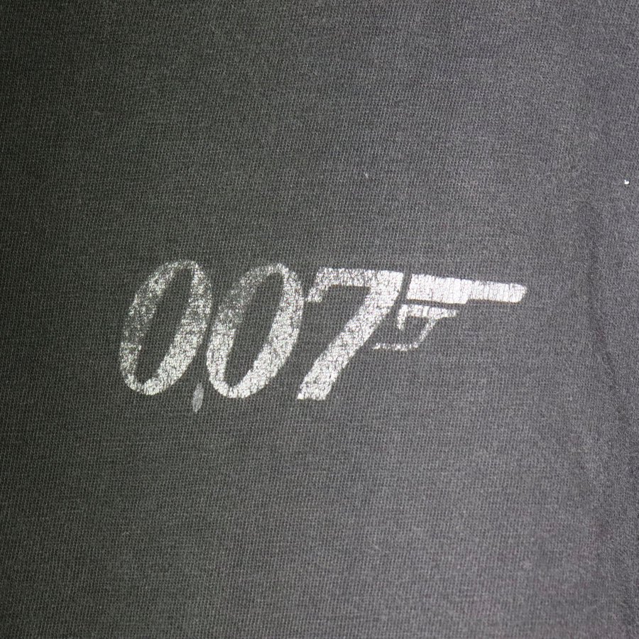 Vintage James Bond 007 Tomorrow Never Dies T-Shirt Size XL