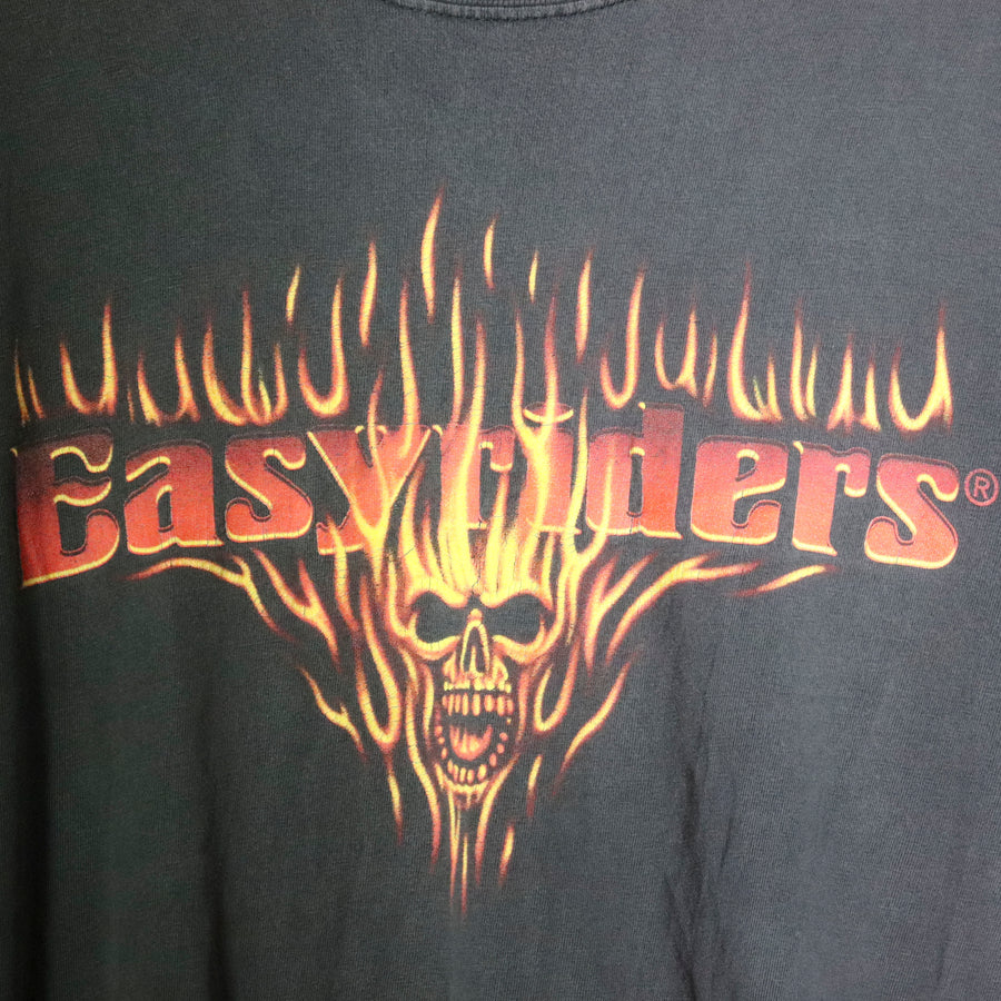 Vintage Easy Riders Skull T-Shirt Size N/A