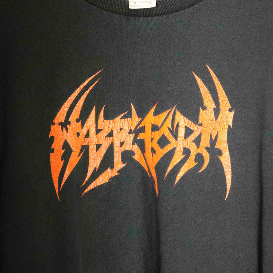 Vintage Mazeform Ignorance Through Sovereignty T-Shirt SZ XL