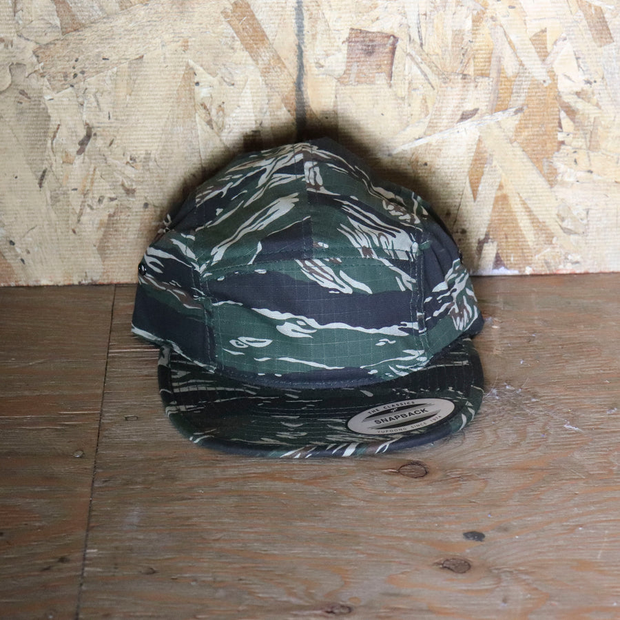 Vintage Forest Green Camo Hat