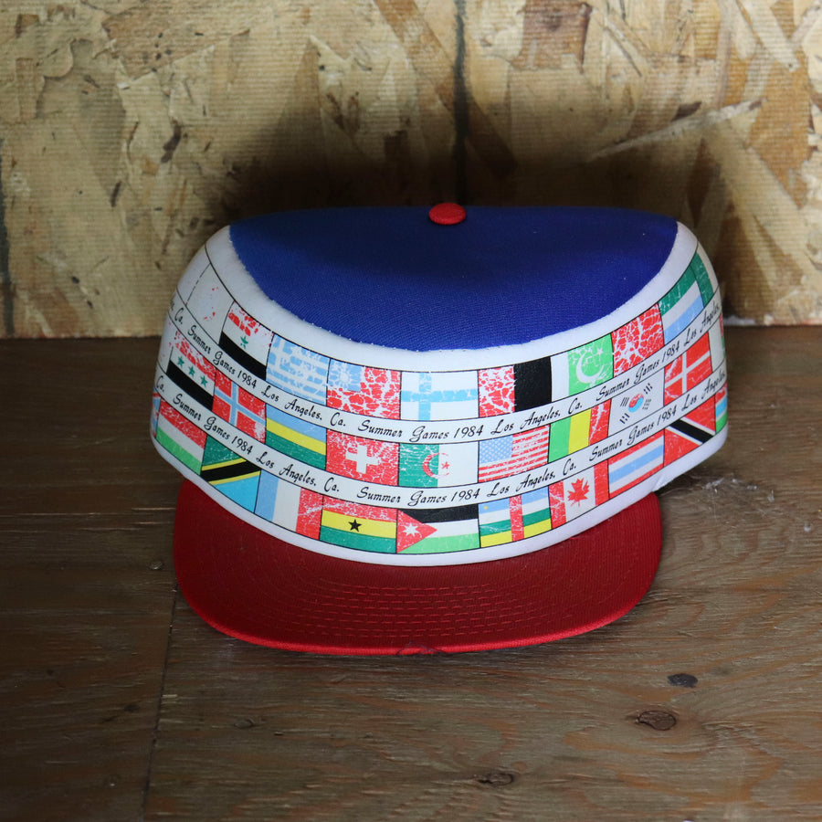 Deadstock Vintage Los Angeles Summer Games 1984 Snapback Hat