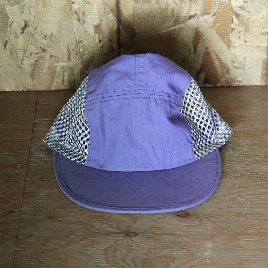 Deadstock Vintage Purple Grey Athletic Mesh Hat