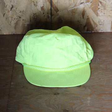 Deadstock Vintage Highlighter Checker Pattern Hat