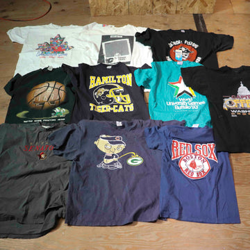 Vintage Wholesale T-Shirt Bundle - Sports #1 (12 pieces)