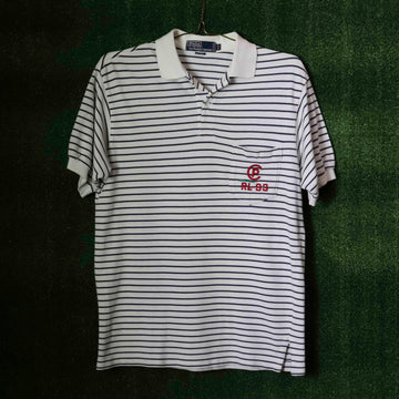 Vintage Polo Ralph Lauren Striped Polo T-Shirt SZ M