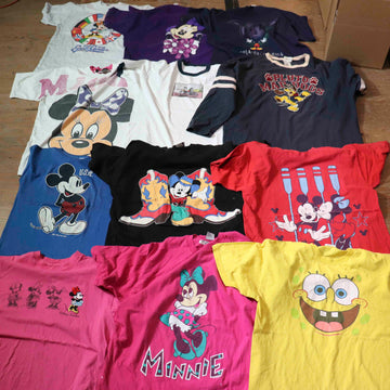 Vintage Wholesale T-Shirt Bundle - Cartoon #1 (12 pieces)