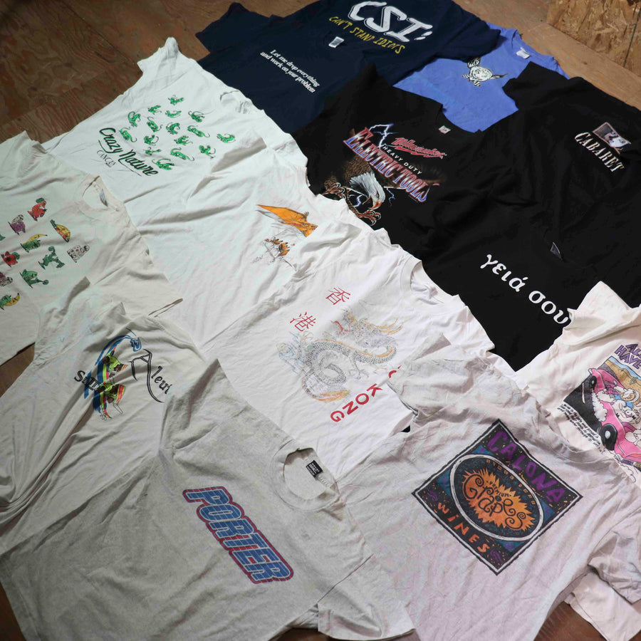 Vintage Wholesale T-Shirt Bundle - Mix #1 (15 pieces)