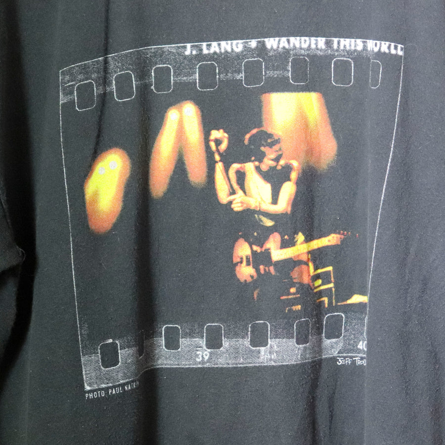 Vintage Jonny Lang Wander This World T-Shirt Size XL