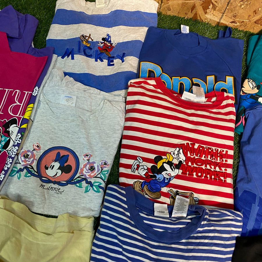 Vintage Wholesale T-Shirt Bundle - Disney #2 (12 tshirts)