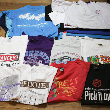 Vintage Wholesale Tshirt Bundle - 80s 90s mix #5 (24 pieces)