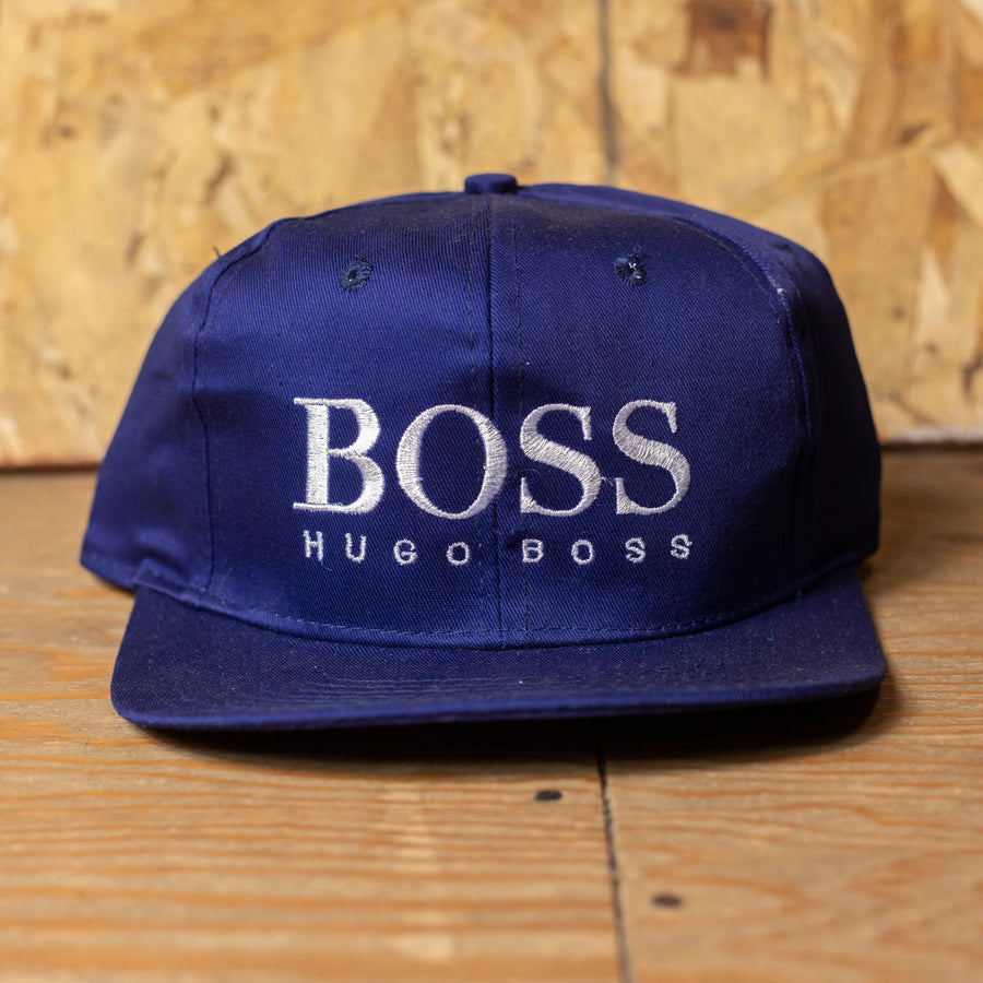 Deadstock Blue Hugo Boss Velcro Hat