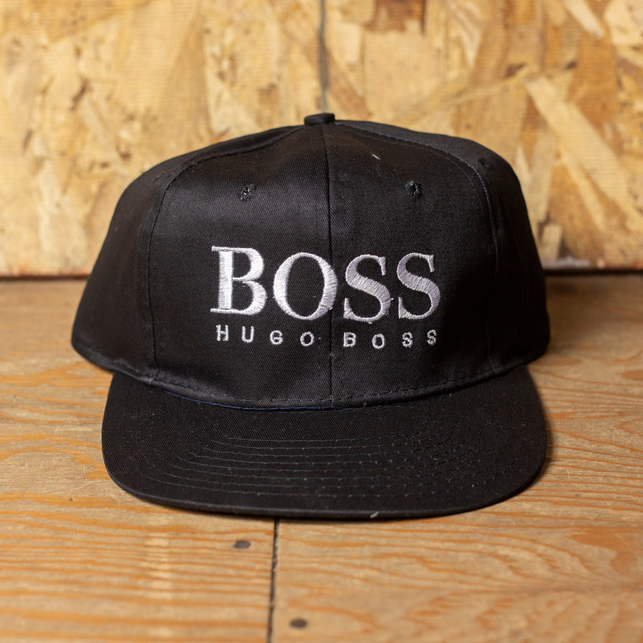 Deadstock Black Hugo Boss Velcro Hat