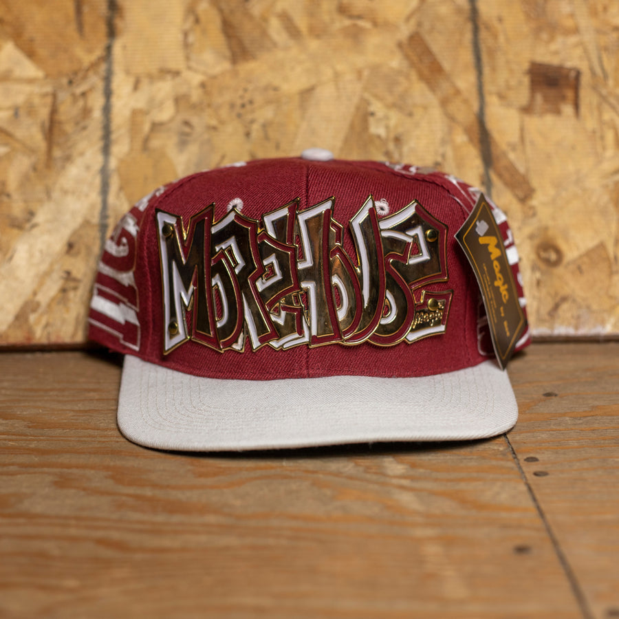Morehouse Tigers Snapback Hat