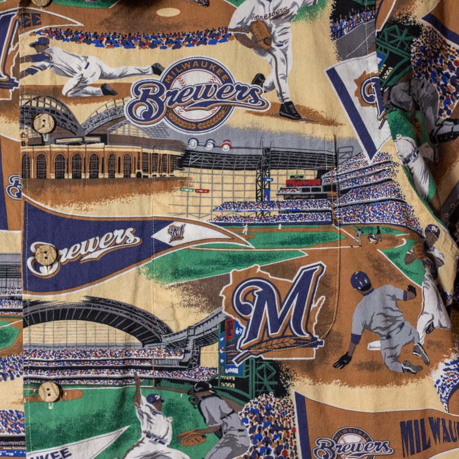 Vintage Milwaukee Brewers Shirt sz XXL