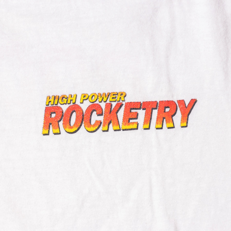 Vintage High Power Rocketry T-Shirt sz L